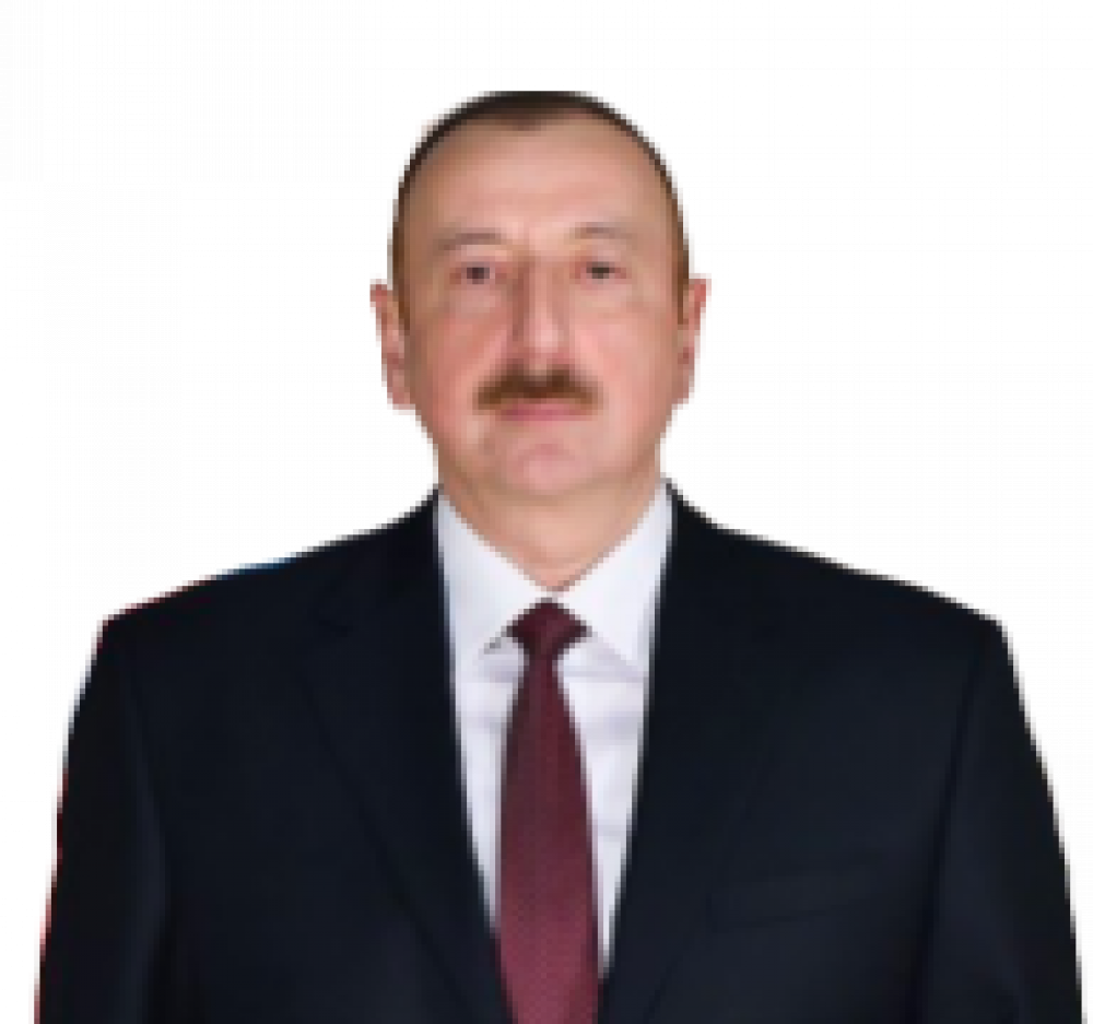 President of the Republic of Azerbaijan Ilham Aliyev